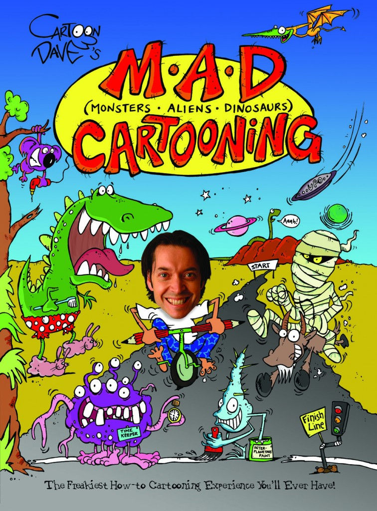 Cartoon Dave's MAD Cartooning BOOK COVER