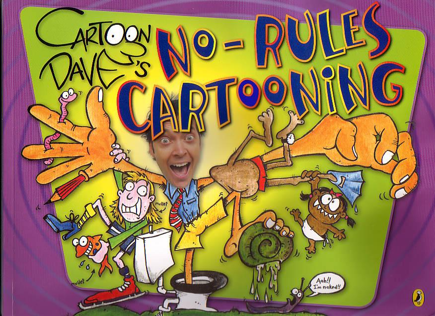 NO RULES CARTOONING cover