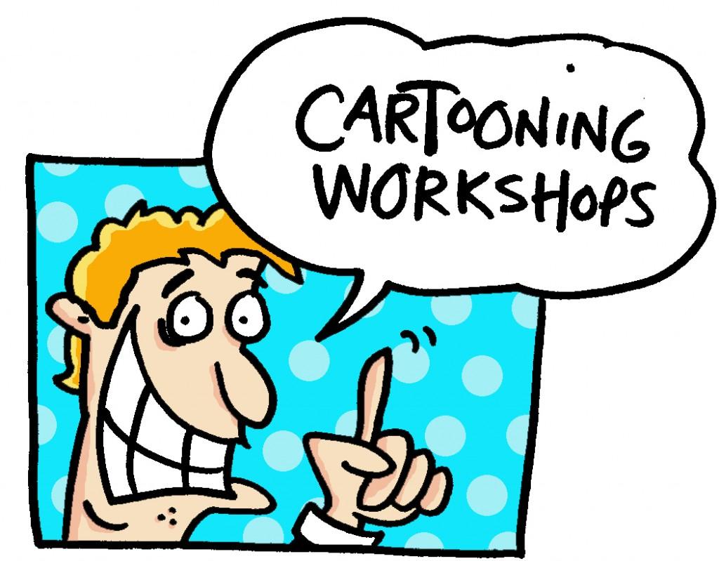 cartooning workshops