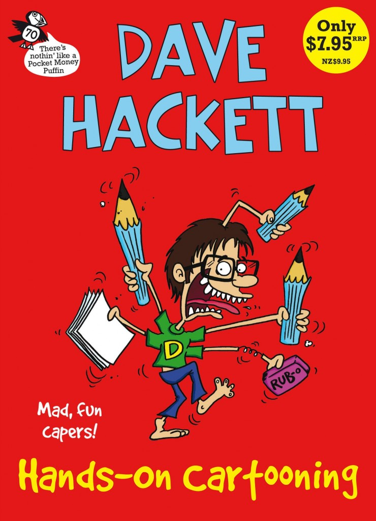 hands-on-cartooning cover image